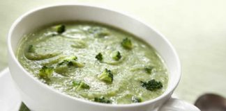 Veloute de chou vert et brocoli au thermomix