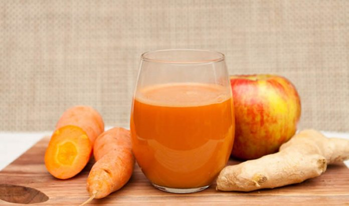 jus minceur detox de carottes avec thermomix