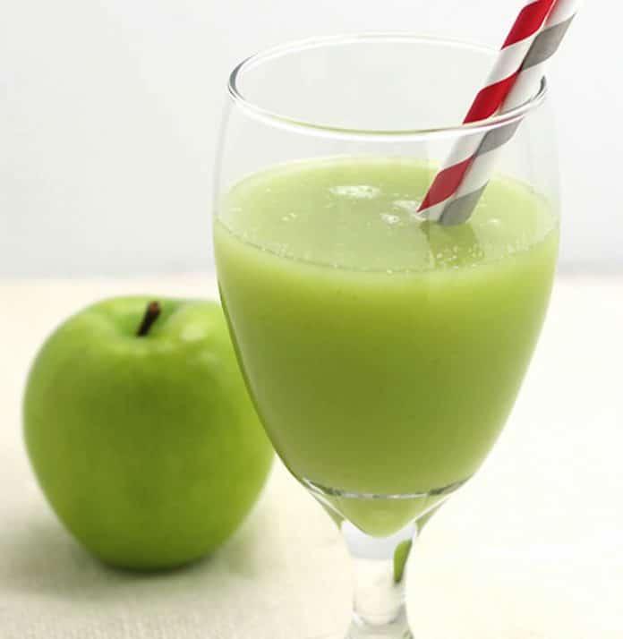 jus minceur detox de citrons et pommes avec thermomix