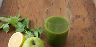jus minceur detox de pommes avec thermomix