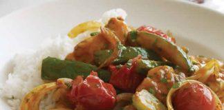 poulet courgette et tomate au cookeo