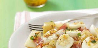 salade pomme de terre oeuf et lardon au cookeo