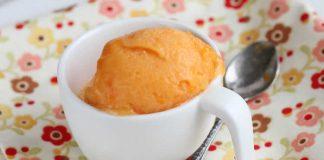 sorbet abricot avec thermomix