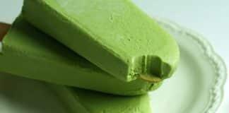 sucette glacée thé vert avec thermomix