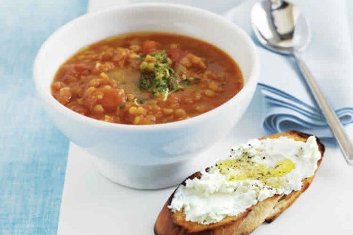 Lentilles carottes et tomates au cookeo
