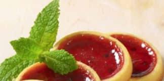 Mini tartelettes confiture de fraises au thermomix