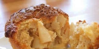 Muffins moelleux aux poires au thermomix