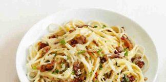 Spaghetti carbonara au cookeo