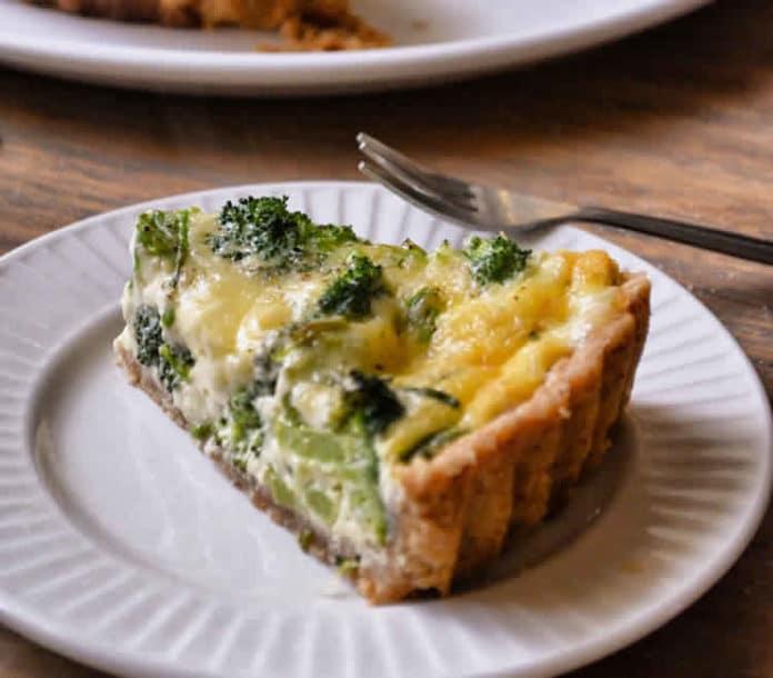 Tarte aux brocolis et fromage au thermomix