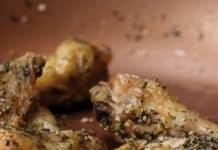 Ailes de poulet aux herbes cuisson four