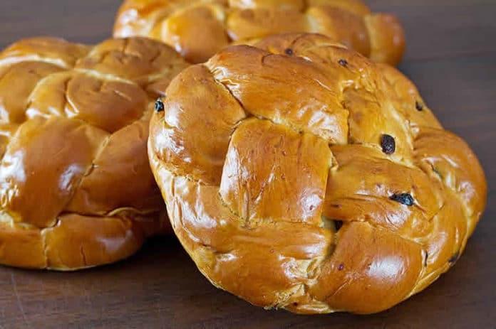 Challah pain aux raisins secs au Thermomix