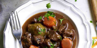 Joue de bœuf et carottes au cookeo
