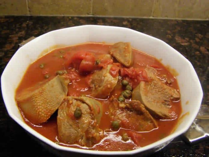 Langue de boeuf avec sauce au Cookeo