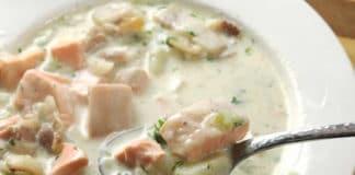 Pavés de saumon à la crème au cookeo
