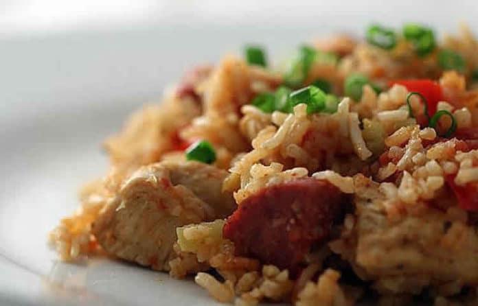 Poulet et riz basmati au cookeo