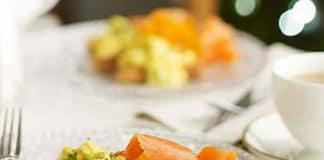 Recette oeufs au saumon et ciboulette weight watchers