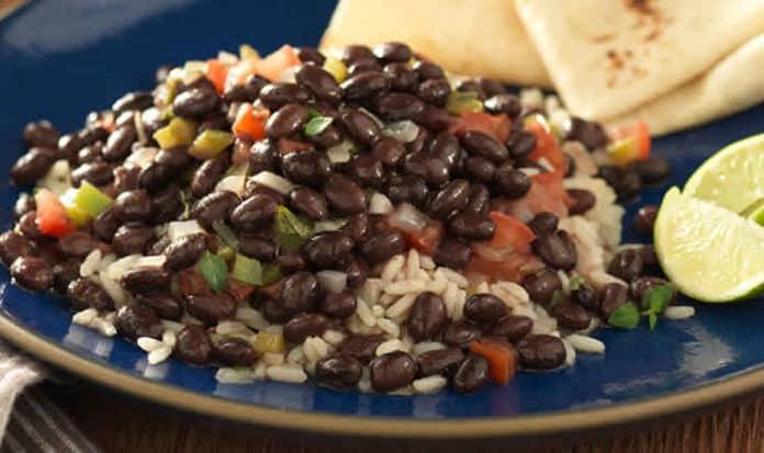 Riz aux haricots noirs au cookeo