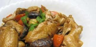 Ailes de poulet et champignons chinois au Cookeo