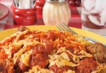Boulettes kefta riz et sauce tomate au Cookeo
