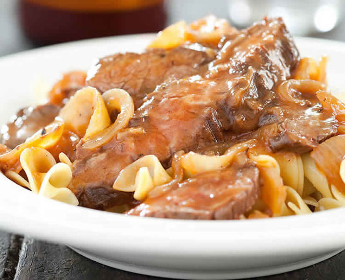 Carbonnade flamande au cookeo