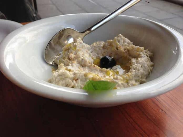 Crème aubergine au thermomix