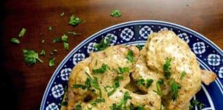 Cuisse de poulet moutarde cookeo