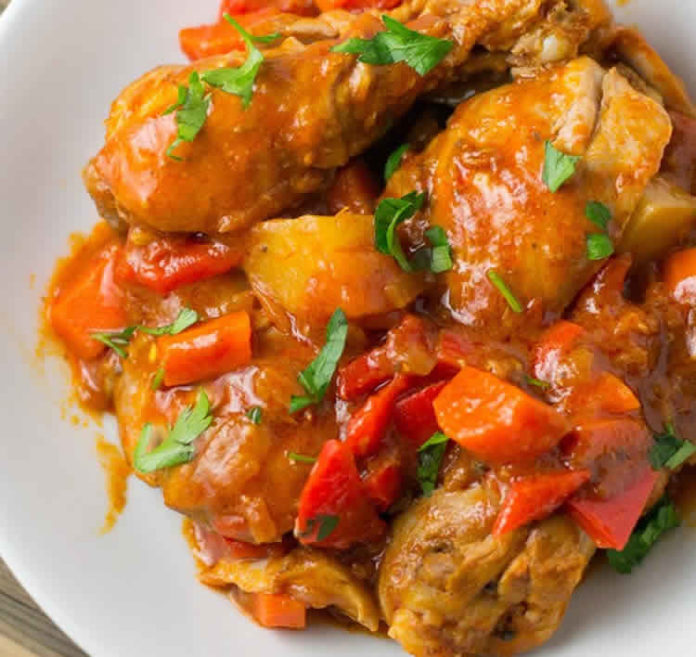Cuisses de poulet pomme de terre au Cookeo