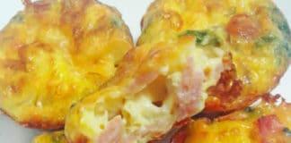 Mini-quiches au jambon et au fromage