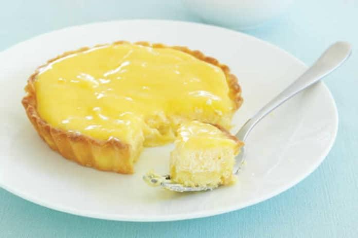 Mini tarte au citron et au fromage