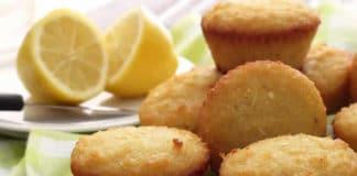 Muffin citron et noix de coco au thermomix