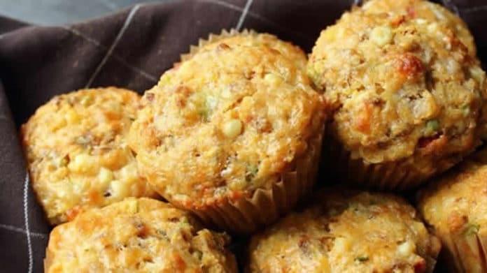 Muffins chorizo fromage au thermomix