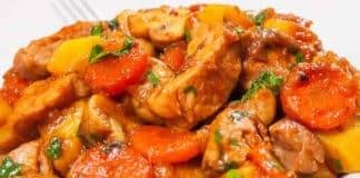 Pilons de poulet pommes de terre carotte au cookeo