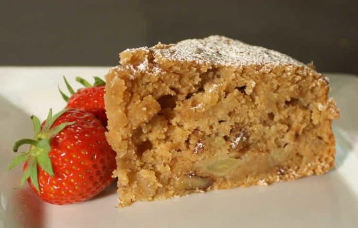 Recette cake aux pommes et noix ww