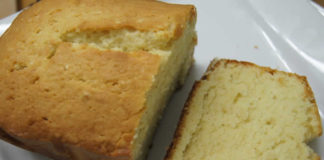 Recette cake nature weight watchers