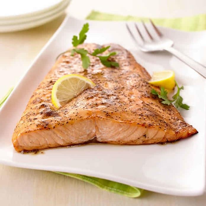 Recette filet de saumon au citron ww