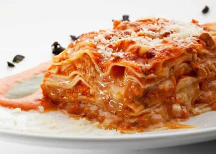 Recette lasagne poulet et parmesan ww