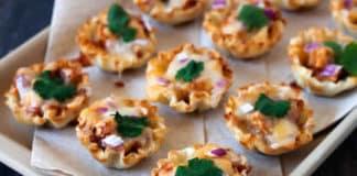 Recette mini bouchées de poulet ww