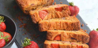Recette pain aux fraises fraîches ww