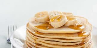 Recette pancakes à la banane ww