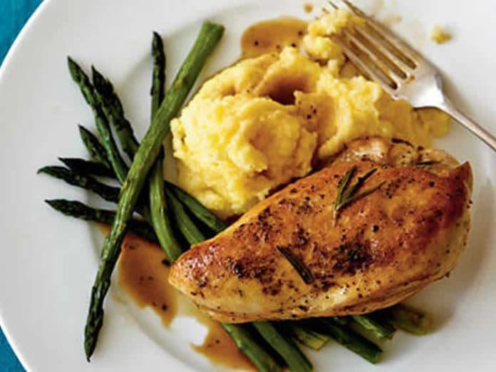 Recette poulet au four au citron et herbes ww