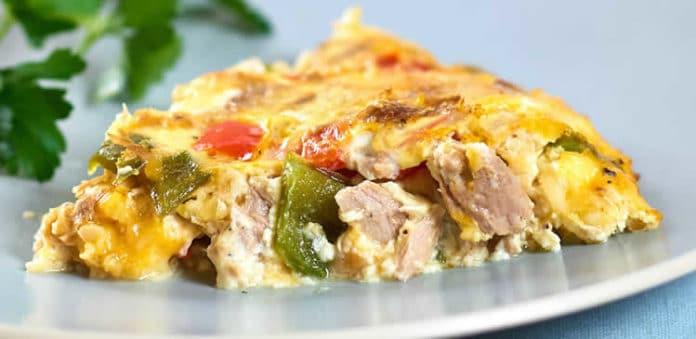Recette quiche thon sans pâte weight watchers