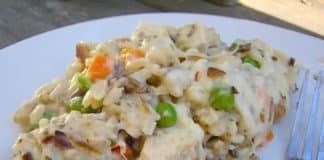 Recette riz sauvage au poulet ww