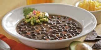 Recette soupe aux haricots noirs ww