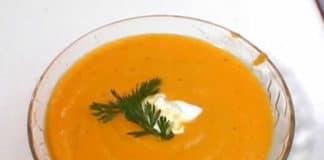 Recette soupe de carottes au gingembre w.w
