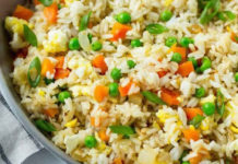 Salade riz légumes varoma au thermomix