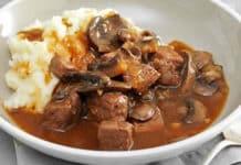 Sauté de bœuf aux champignons au cookeo