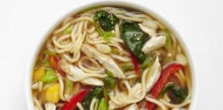 Soupe chinoise de poulet au cookeo