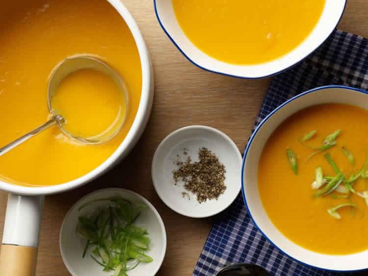 soupe courgette pomme de terre carotte