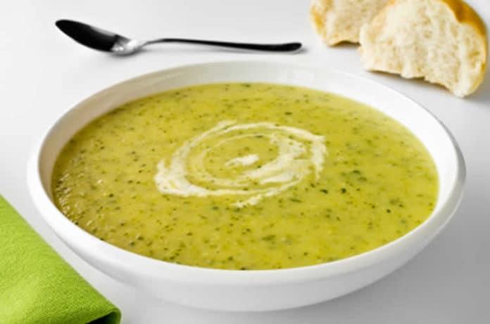 Soupe courgettes et pommes de terre au thermomix
