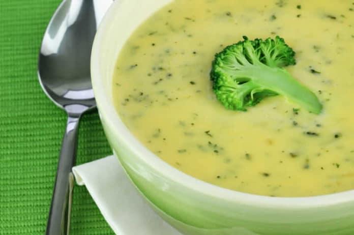Soupe de chou-fleur et brocoli au thermomix